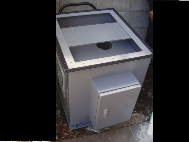 活性炭脱臭装置「デオキーパー」搬入