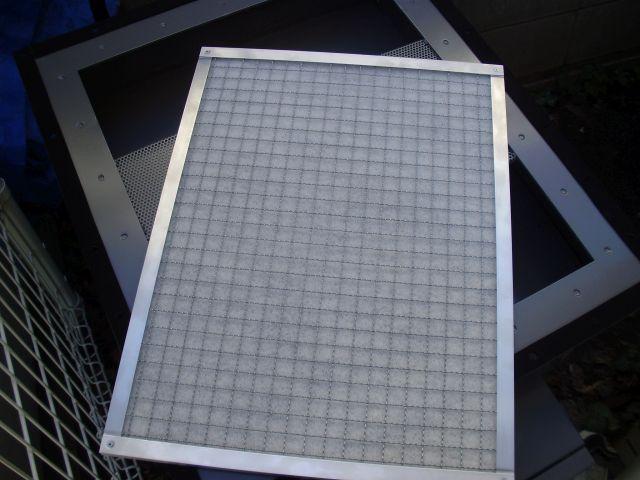 活性炭脱臭装置「デオキーパー」フィルター部