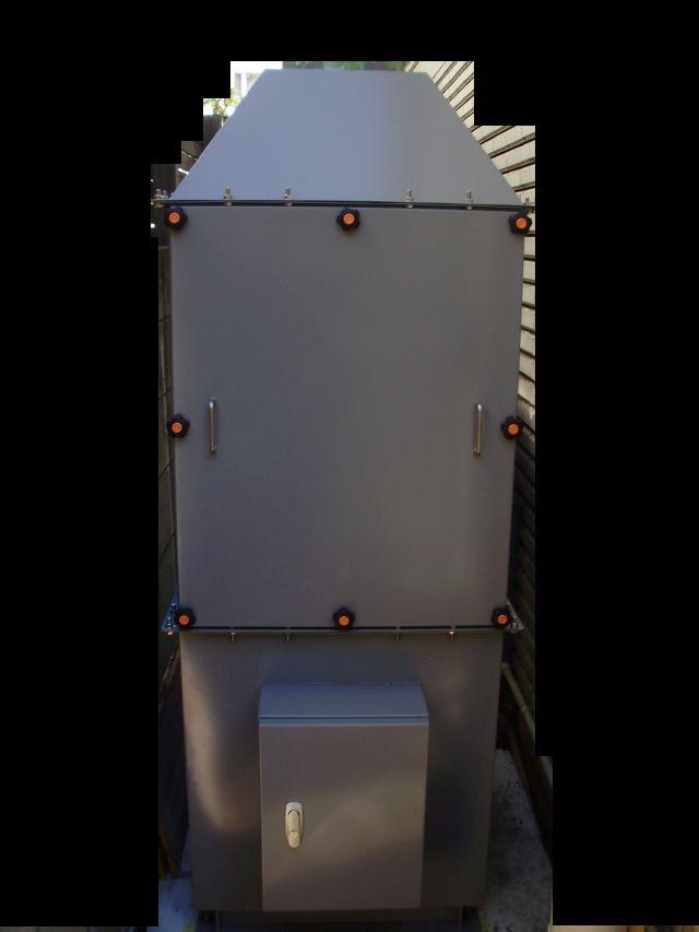 活性炭脱臭装置「デオキーパー」設置終了