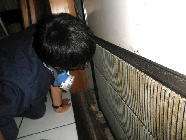臭気判定士の嗅覚による官能評価