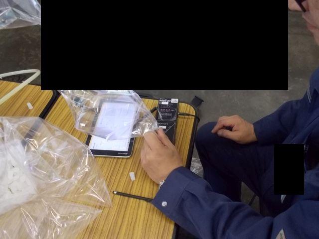 臭気判定士による嗅覚測定法にて、臭気濃度(臭気指数)測定