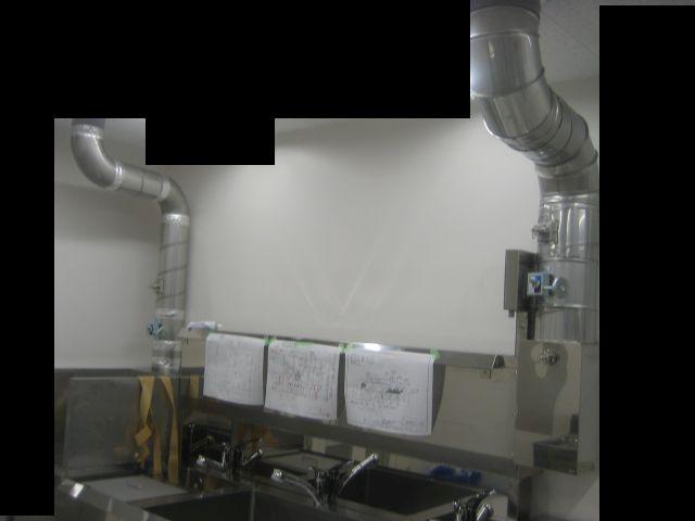 λ型流し台&濾過装置