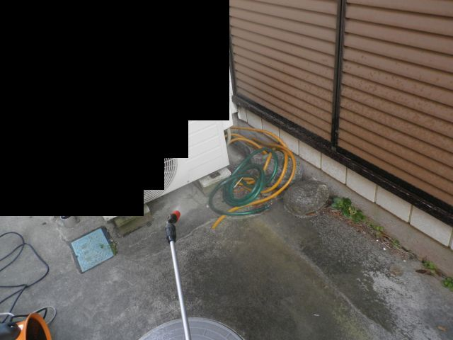 悪臭漏洩箇所の確認調査