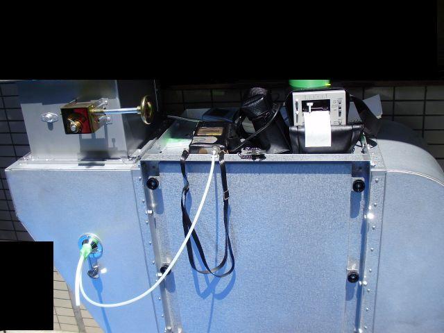 工事完了後臭気濃度(臭気指数)を測定