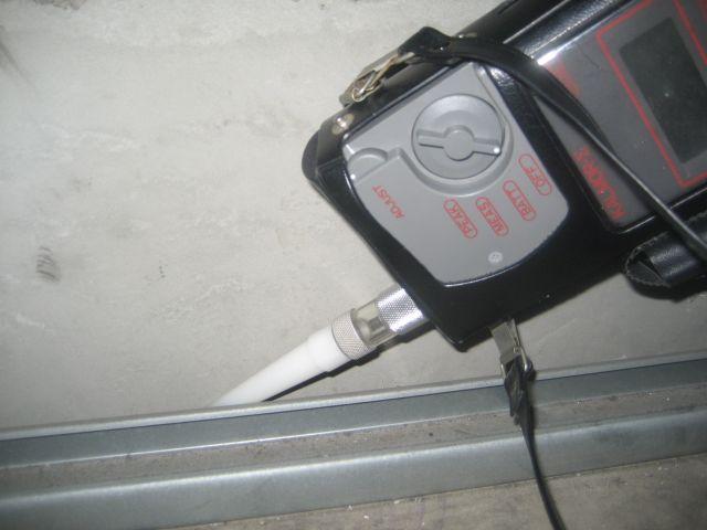 臭気センサーによる調査