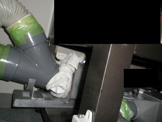 酸素クラスター脱臭装置のデモテスト