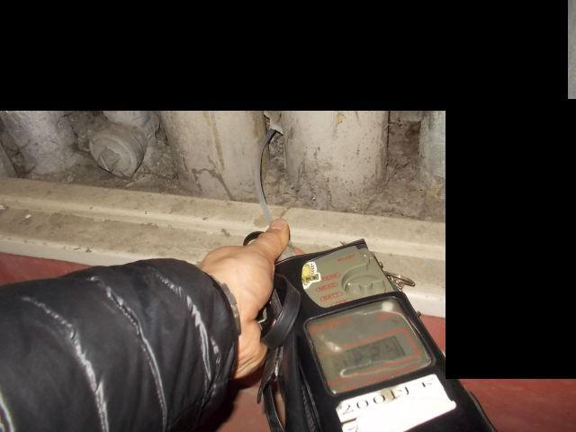 臭気測定機による臭気調査