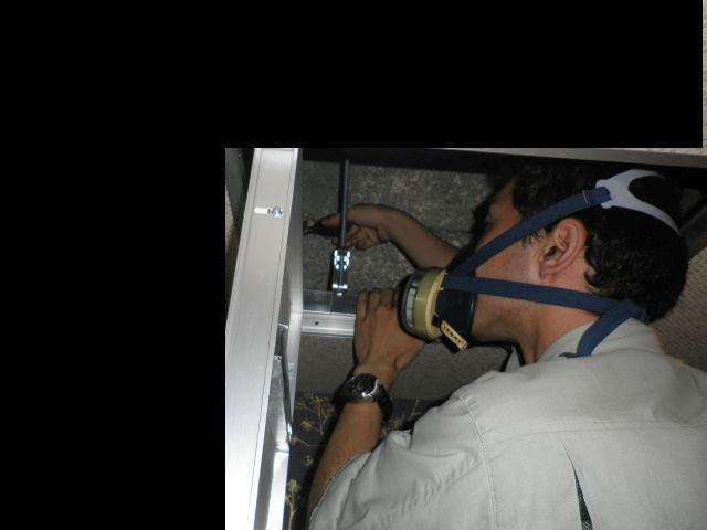 天井裏の嗅覚による異臭発生源調査