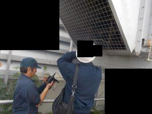 ハイブリッドスクラバー脱臭装置通過後の臭気濃度測定