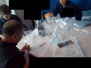 日本とタイの臭気判定士による臭気測定