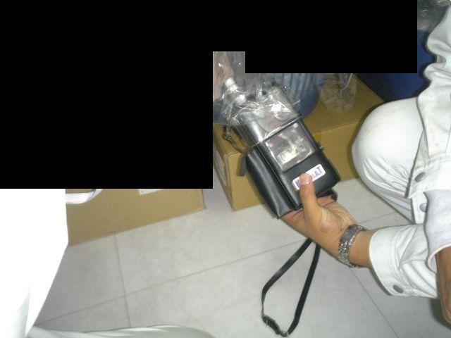 仕上がり商品の臭気測定