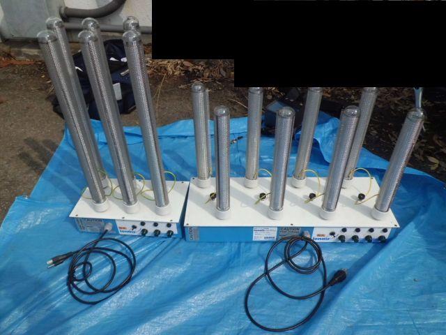 酸素クラスター除菌脱臭装置ダクトインタイプ