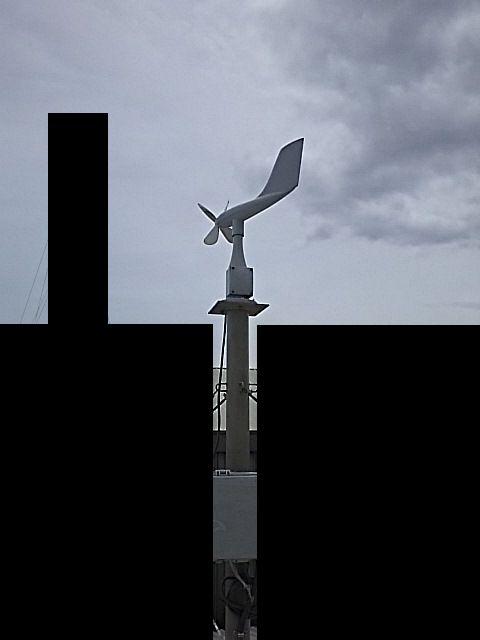 風向風速計連動(臭気測定)