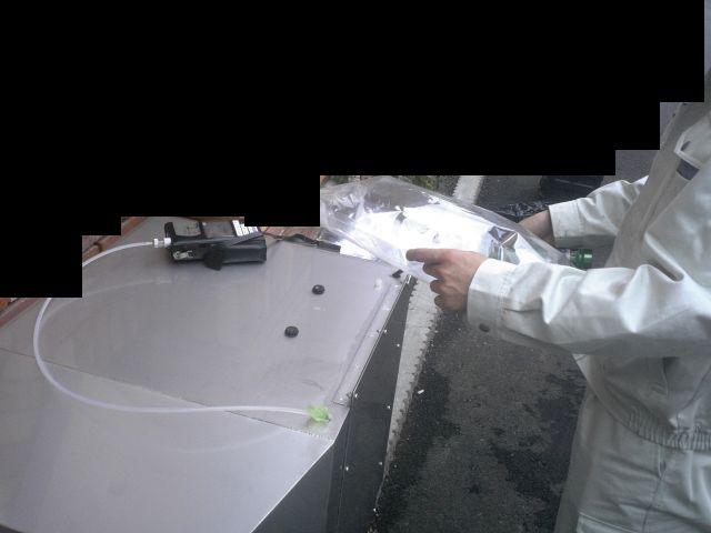 ゼオガイア脱臭装置/臭気測定