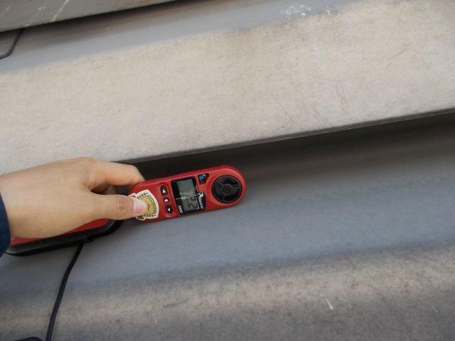 センサーによる臭気調査
