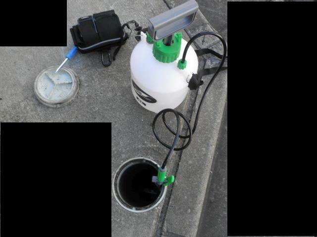 住宅排水測定
