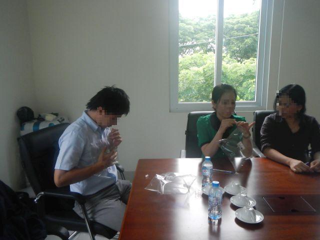 ベトナム工場での臭気コンサルテーション