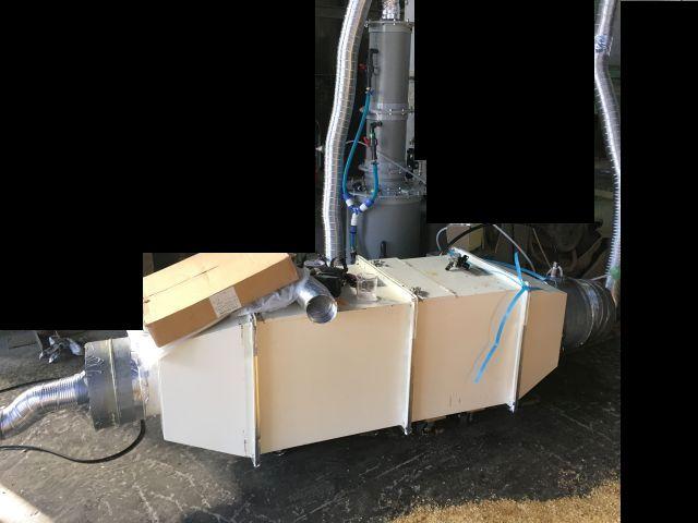インジェクションスクラバー脱臭装置デモテスト