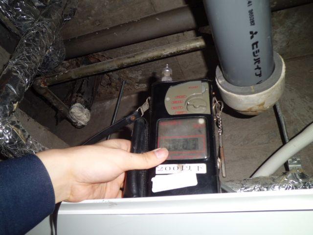 臭気測定器による調査