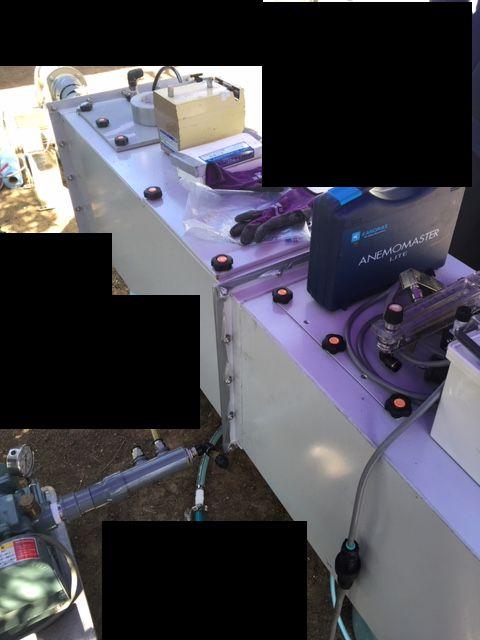 脱臭デモテスト用のBOX