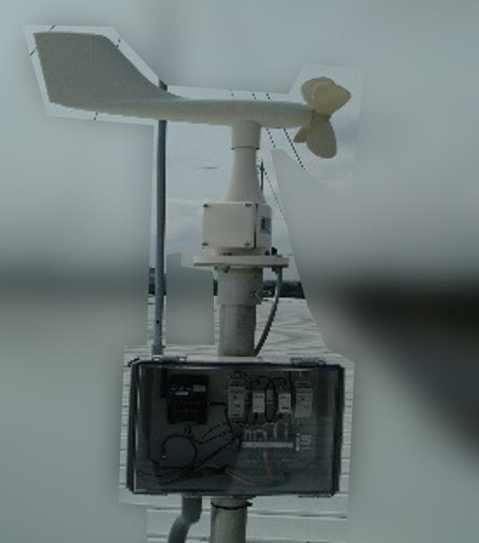 におい監視システムDeomoni(風向風速計 併設)