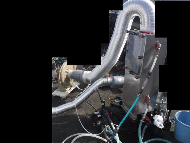 湿式脱臭装置デモテスト