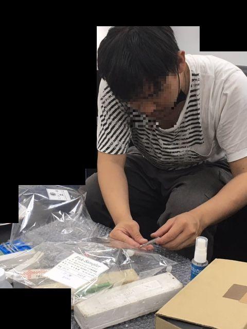 タイの工場での臭気測定