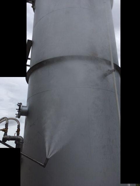 ダクトへの加工による消臭剤スプレーノズルの設置