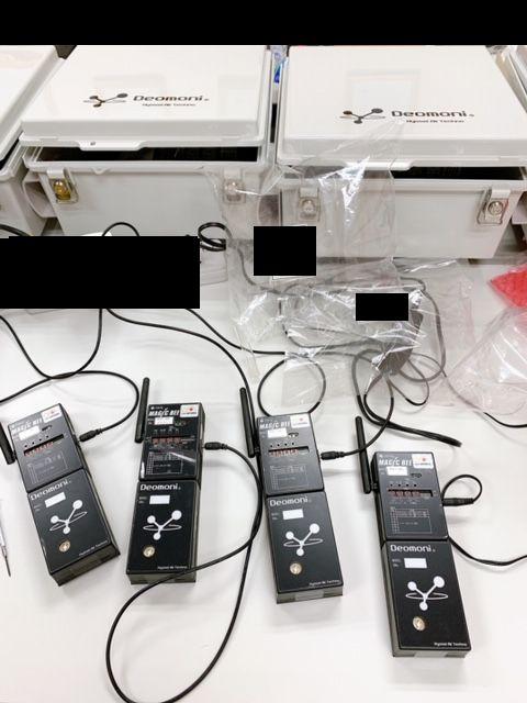 臭気監視システム機材