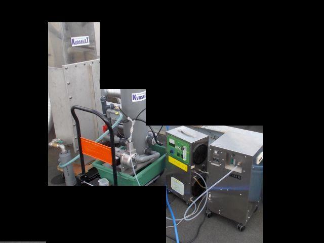 脱臭装置のデモテスト