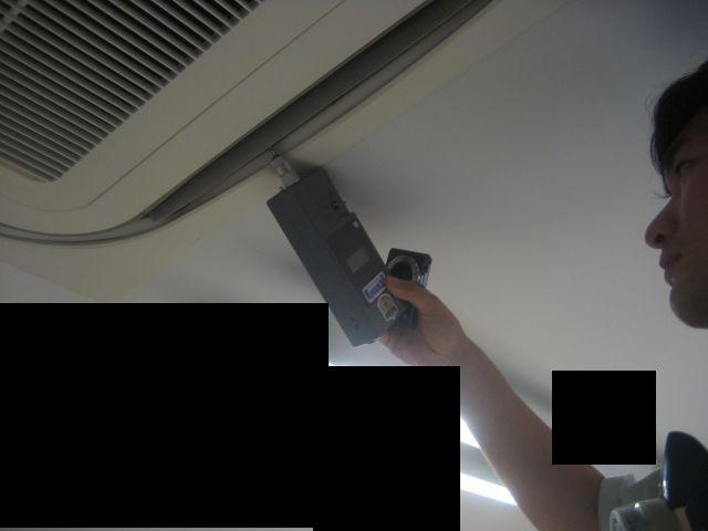 臭気センサーによる測定