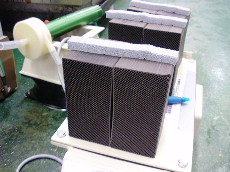 デオキーパーのデモテスト機