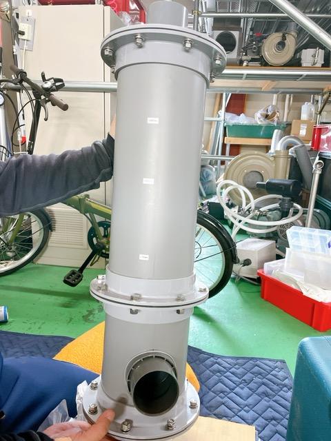 デオキーパー脱臭装置のデモテスト機